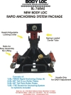 BYL BL-76RAS Rapid Anchoring System Package