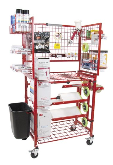 Itt I Mcwma Paint Prep Cart With Masker The Collision Equipment Group